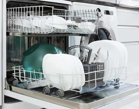 Under-counter style dishwasher