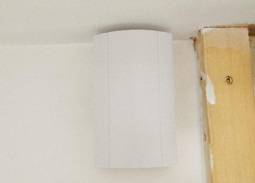 Door bell system fully installed