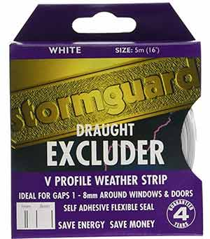 Stormguard draught excluder