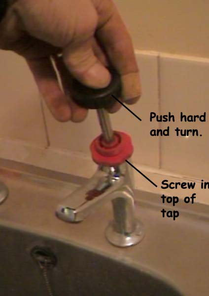 Repairing a Dripping Tap and How to Change a Tap Washer and Reseat ...