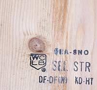 Wood that has a KD symbol has been kiln dried