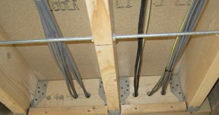 Electrical Safe Zones for Running Cables Through Walls and ... on