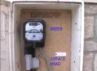 Electrical Meter Cupboard