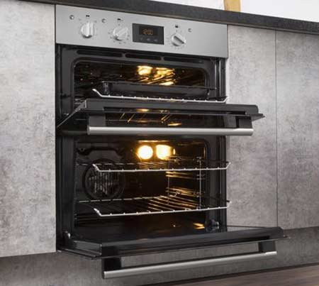 Built under electric double oven
