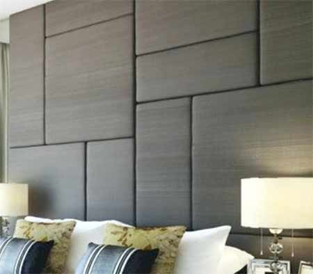 Different size padded wall panels