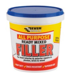 Ready mixed all purpose filler