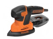 Mouse sander for feathering out paint
