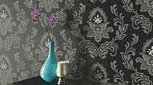 Floral Feature Wallpaper