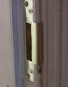CE marked Lock keep for fire door