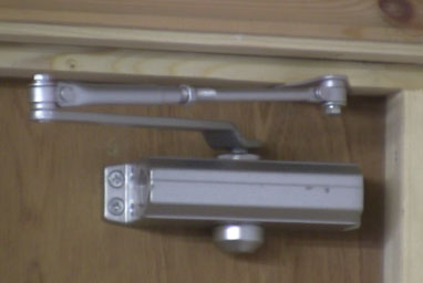 Door Closer for a fire door