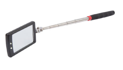 -- Inspection mirror with LED lights ideal for inspecting under floor and behind walls