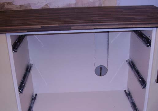 Gas hob base unit