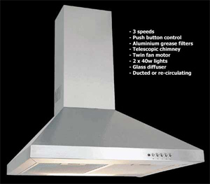Cooker hoods and other kitchen products