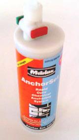 Polyester anchor resin