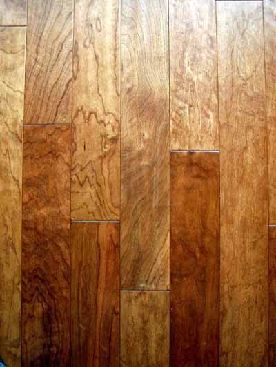 Cherry -Natural Grade <br>Special - mixed plank widths