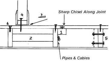 Floorboard Cross Section