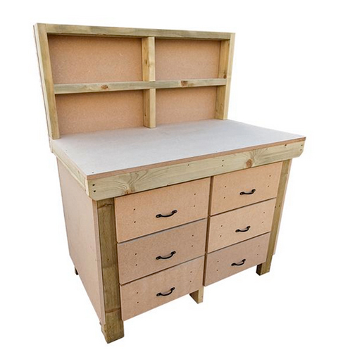 Fixed workbench available from Etsy