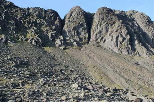 Scree slop of rocks