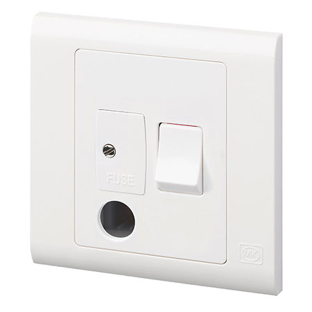 Switched FCU with flex outlet