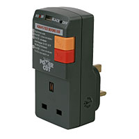 RCD socket adaptor