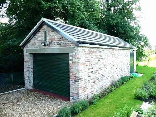 Detached garages can be tricky to convert