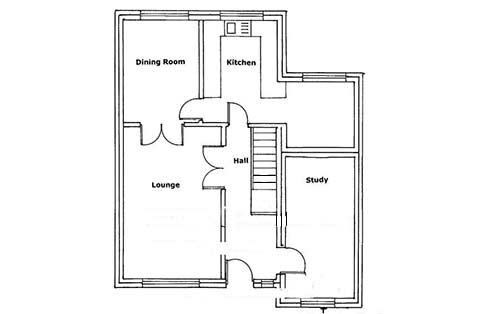 Plans for garage conversion