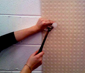 Mesh membranes for plastering damp walls