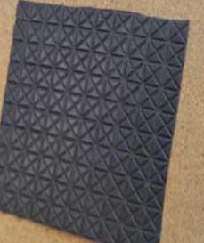 Slimline floor membrane