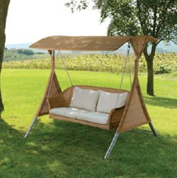 Garden Swing is available from Celebration Furniture