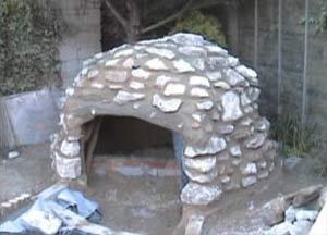 Cave Walls were built using irregular Stone Walls