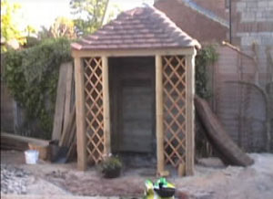Summer House with Trellis
