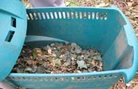 Shredder waste baskets keep the job tidy