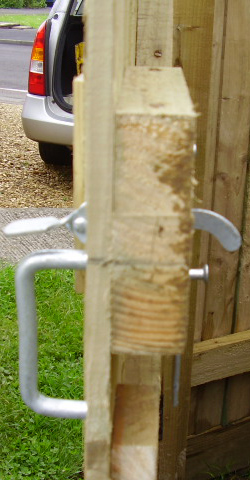 Garden Gate Latch