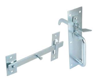Zinc Norfolk Latch
