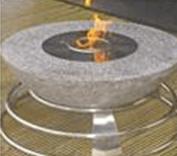 Bowl gel fire
