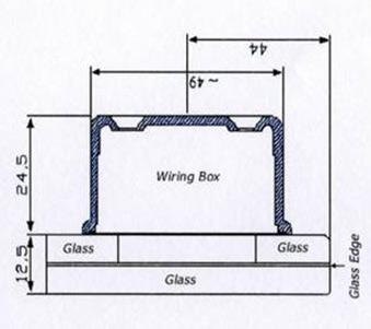 Thermovtt Elegance Model 12/06 Glass Edge