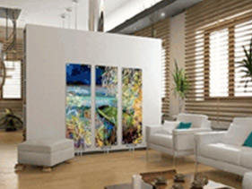 Glass radiators you can design yourself - GlassArt