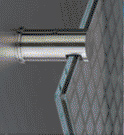 Stainless steel top fixing