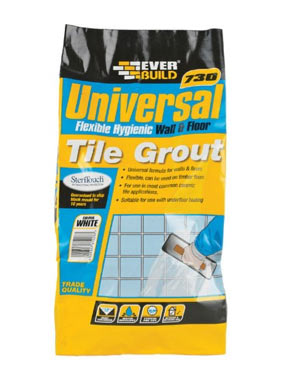 Everbuild universal floor tile grout