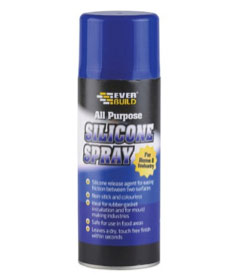 Silicone spray available in our store