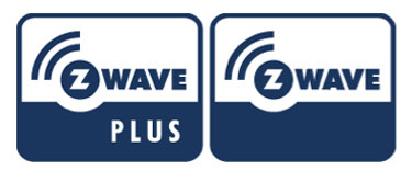 Logos for Z-Wave and the Newer Z-Wave Plus