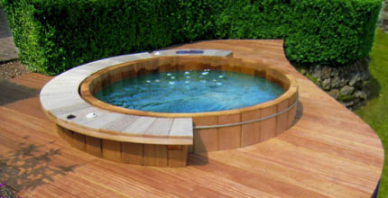 A hot tub by Adriano Pianesi