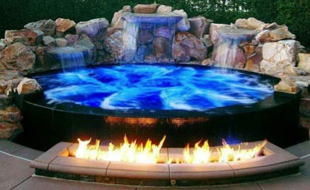 A hot tub can be a great feature in your garden