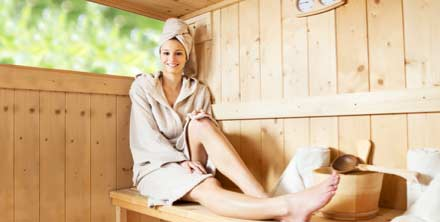 Sauna or steam room