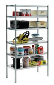 Multi purpose shelving unit