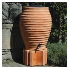 Terracotta style water butt