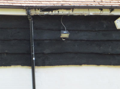 Surface Water From Roof and Downpipe