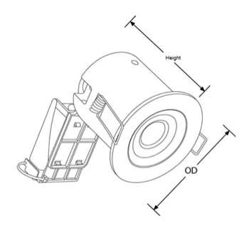 Downlighter measurements