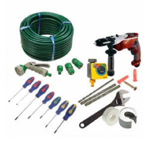 The outside tap tool kit from DIY Doctor