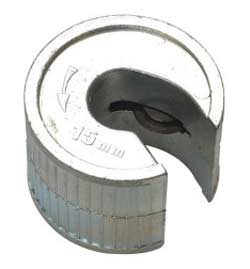 15mm pipe cutter or pipe slice